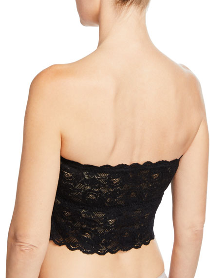 Never Say Never Signature Lace Tube Top