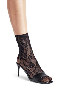 Wildflower Net Ankle Socks by Wolford