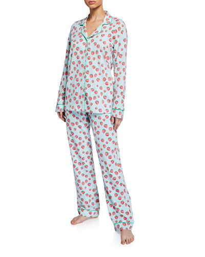 663c3244a5 Designer Pajamas   Cotton   Poplin Pajamas at Bergdorf Goodman