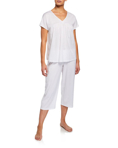 Lotta Cropped Pajama Set