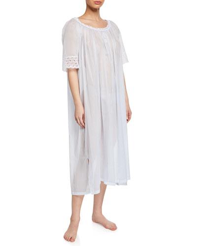 Tonight Scoop-Neck Short-Sleeve Nightgown