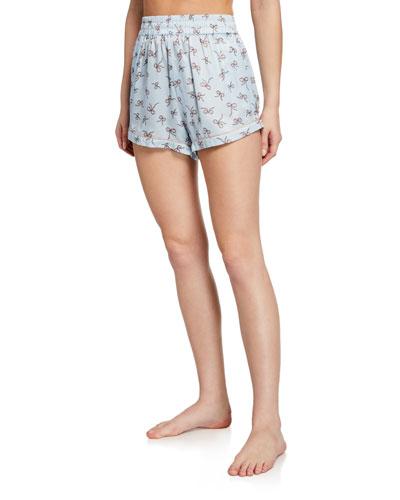 Chloe Dancing Bows Pajama Shorts