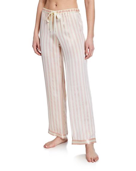 Morgan Lane Pants CHANTAL PETAL STRIPE LOUNGE PANTS