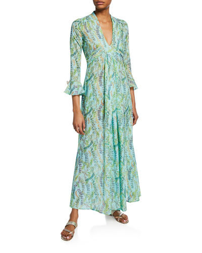 Severine Kala Cotton Caftan