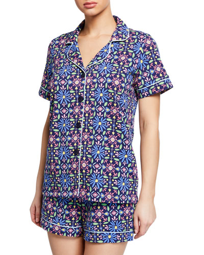 Spanish Tile Shorty Pajama Set Quick Look. Bedhead 441f21671