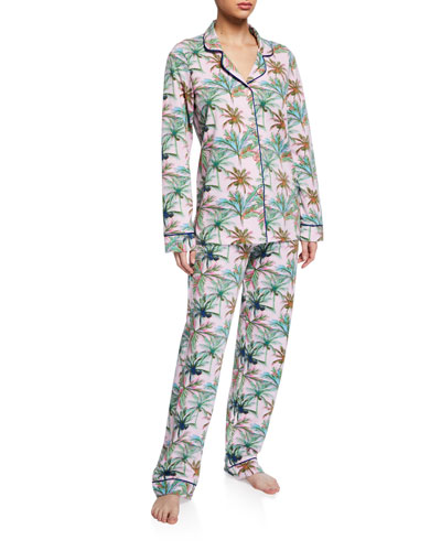 Rainbow Palm Classic Pajama Set