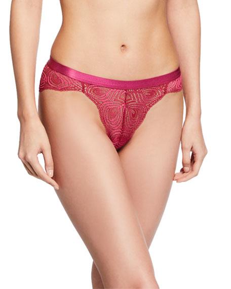 Sugar Geometric-Lace Hotpant Briefs