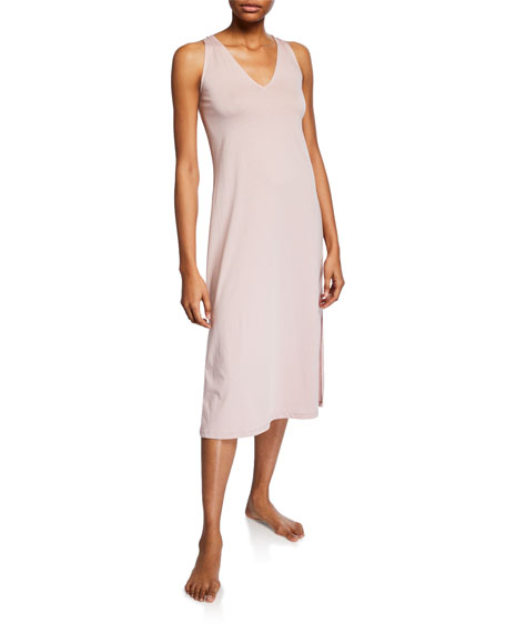 Image 1 of 1: Simona Sleeveless Nightgown