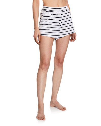 Ashlyn Striped Lounge Shorts