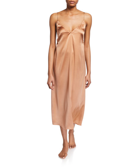 Skin Tops ROSAMONDE SILK NIGHTGOWN