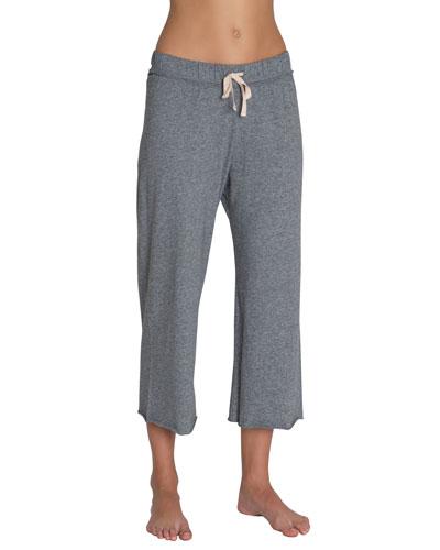 Charlie Heathered Crop Pants