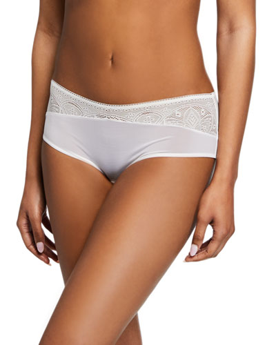 Moa Lace-Front Hipster Briefs