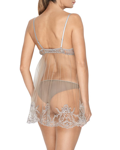Hollywood Dream Sheer Lace Chemise