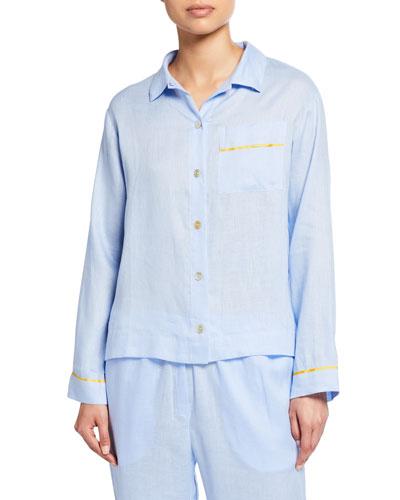 Pepper Long-Sleeve Pajama Shirt
