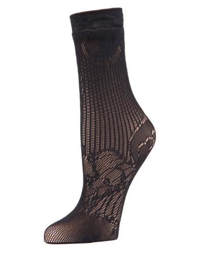 Plume Lace Sock