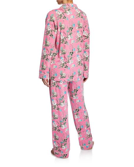 Ladybug Floral Classic Pajama Set