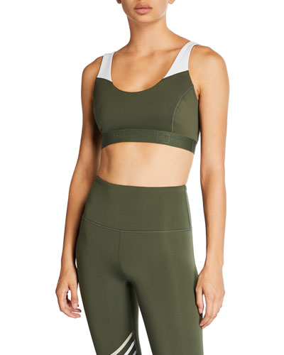 Believe Strappy Sports Bra