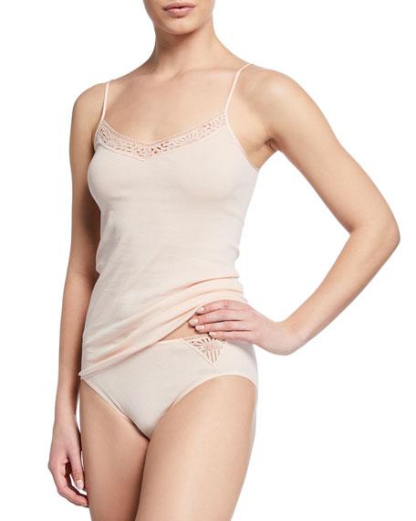 Malene Lace-Trim Camisole