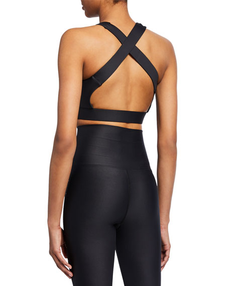 Levi Studded Open-Back Top