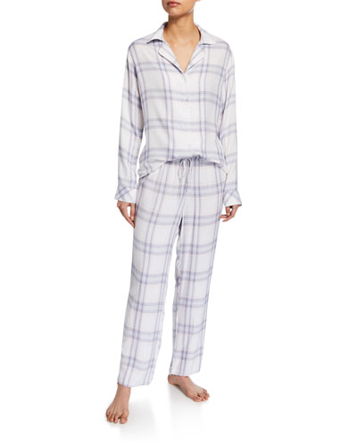 Plaid Classic Pajama Set