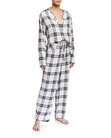 Rails Loungewears PLAID CLASSIC PAJAMA SET