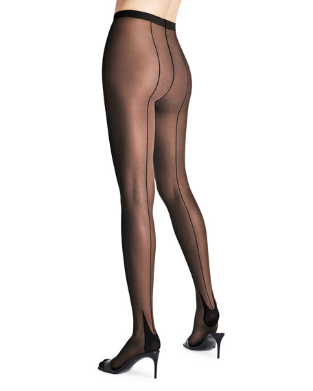 Image 1 of 1: Horizon Back-Seam Tights