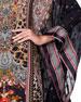 Printed Coverup Kaftan with Sheer Sleeves