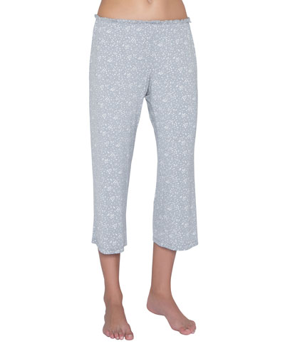 0e9075ab19619 Moon Dots Jersey Crop Lounge Pants Quick Look. Eberjey