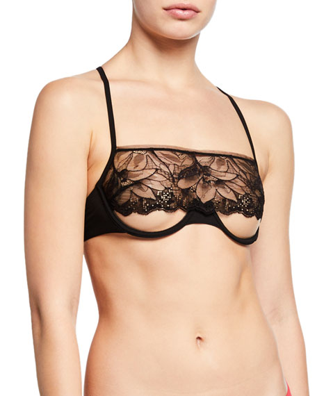 Image 1 of 1: Gatsby Underwire Lace Bra