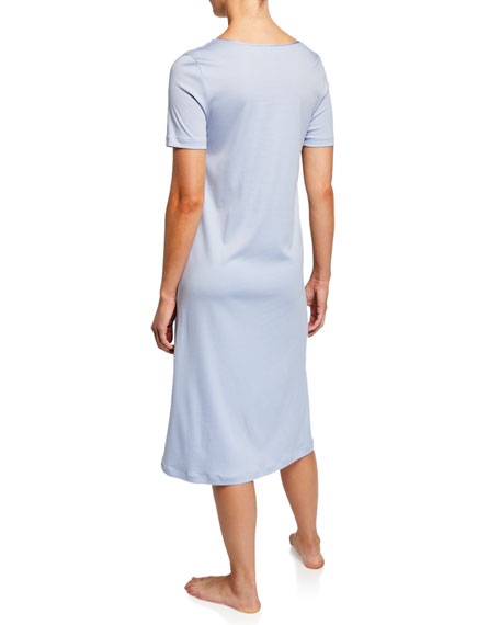 Aurelia Short-Sleeve Nightgown