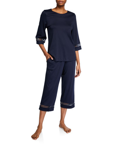 Ilona Crop Pajama Set