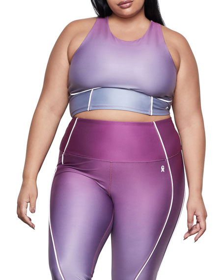 Ombre Contour Sports Bra - Inclusive Sizing