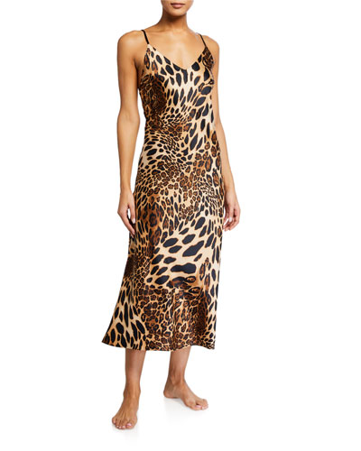 Luxe Leopard Nightgown
