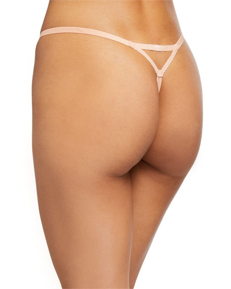 Lorna Tulle-Trim Thong