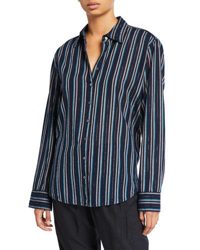 Beau Striped Lounge Shirt