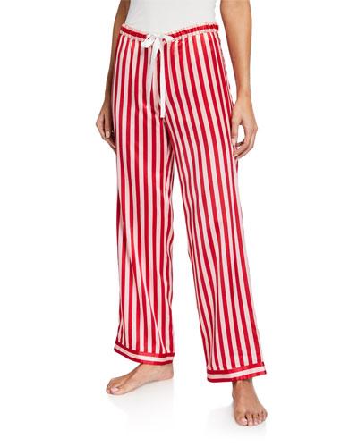 Chantal Striped  Pajama Pants