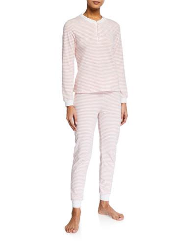 Kaia Striped Pajama Set