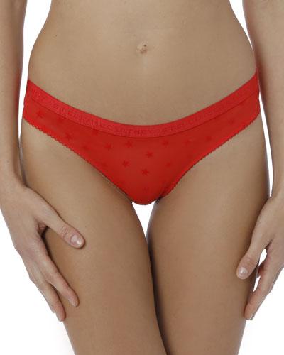 Betty Twinkling Polka Dot Bikini Briefs