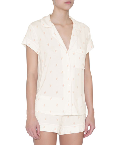 Owls Shortie Pajama Set