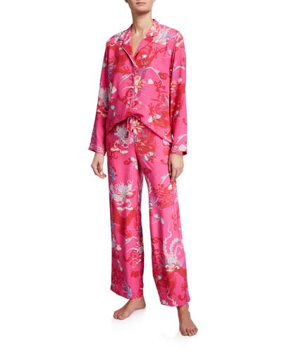 Graphic Pajama Set