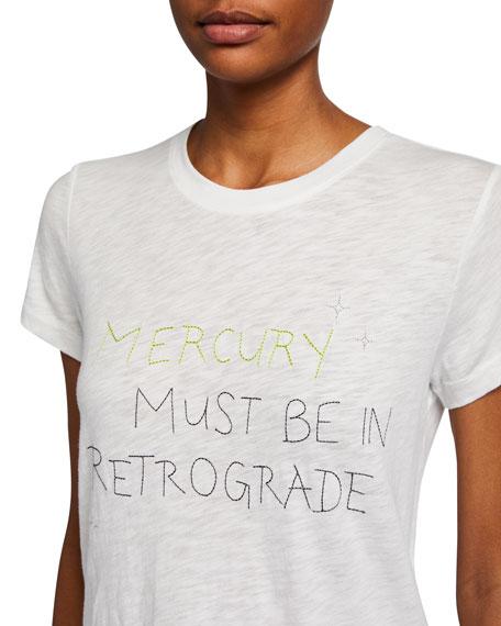 Neon Pop Retrograde Typographic T-Shirt