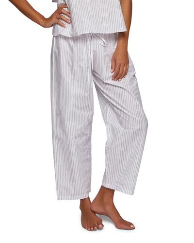 Striped Crop Pants