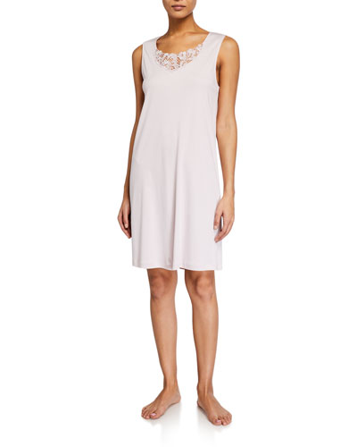 Najuma Lace-Yoke Tank Nightgown