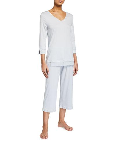 Lamia 3/4-Sleeve Pajama Set