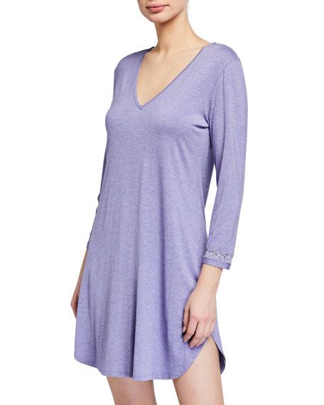 Image 1 of 1: Feathers Essentials Jersey Sleepshirt