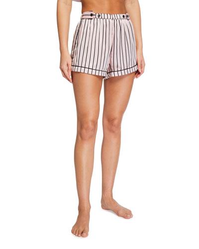 Fiona Striped Lounge Shorts