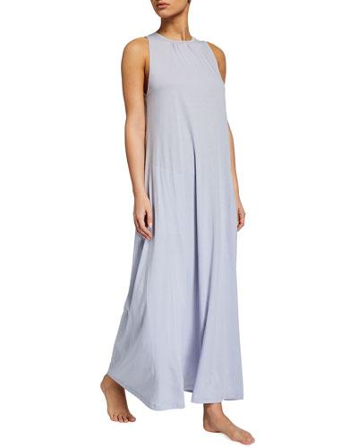 Kesi Sleeveless Organic Cotton Jersey Nightgown