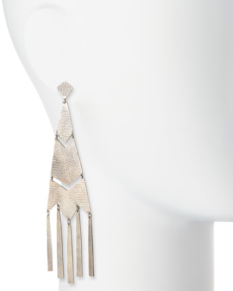 Fringe Chandelier Earrings