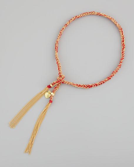Lucky Heart Bracelet, Red