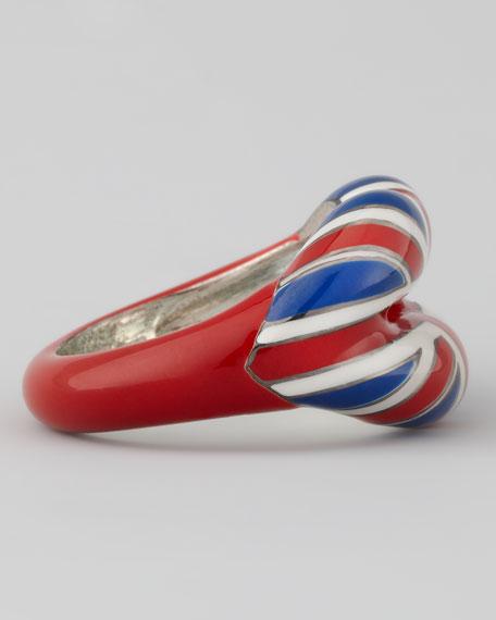 Britannia Hotlips Ring, Size 6.5 US/53 EU